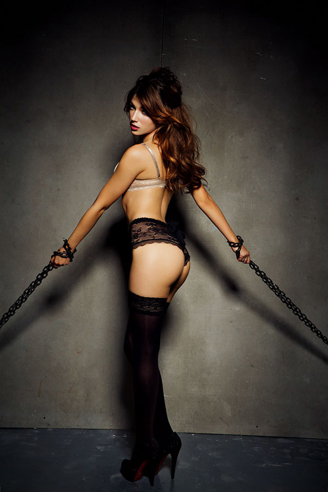 Ursula Corbero photo lingerie